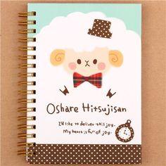 Japanese funny sheep and cat ring binder notebook by Kamio Kamio http://www.amazon.com/dp/B00Q41T6MC/ref=cm_sw_r_pi_dp_Een0vb12VFGTX