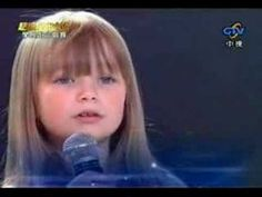 Connie Talbot - I will always love you LIVE   (Connie is only 6 years old in this video!)