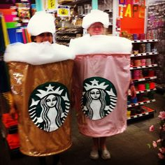 Pin for Later: Bite Me: 40+ Halloween Costumes Inspired by Your Favorite Foods Starbucks Frappuccinos
