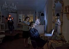 Catherine BALET  Strangers in the Light #24 (2009)  Tirage Lambda sur papier Kodak Endura métallique  73 x 97 cm, édition de 9
