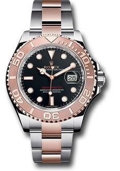 86a6f05ebe8 Rolex Watches - Yacht-Master 40 mm - Steel and Everose Gold - Style No   116621 bk