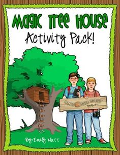 This 20 page Magic Tree House Activity Pack would be great when studying the series with younger elementary students! The activities cover the seri. Magic Treehouse, Literature Circles, Stage, 2nd Grade Reading, First Grade Classroom, School Fun, Summer School, Toddler Fun, Reading Activities