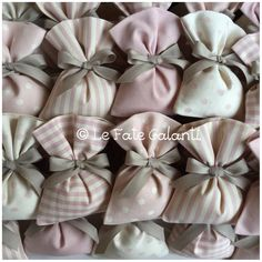 Le Fate Galanti. Battesimo bimba Wedding Gift Boxes, Wedding Favors, Wedding Gifts, Baby Girl Baptism, Girl Christening, Lavender Bags, Lavender Sachets, Decoration Buffet, Fabric Structure