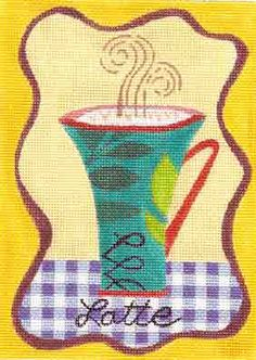 BE-053b -- Barbara Elmore needlepoint design from Sundance Designs