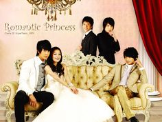 Romantic Princess the drama that practically started it all. It was the 1st Asian drama I had ever seen and the two gentlemen sitting on the couch are a part of my 1st Asian boy band craze, yeah all down hill from there.