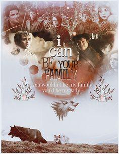 Arya + Gendry ♥