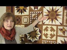~ Magical Effects Using Border Print Fabrics in Quilt Blocks