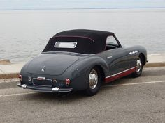 Simca Abarth SC Cabriolet 1951. Maintenance/restoration of old/vintage vehicles: the material for new cogs/casters/gears/pads could be cast polyamide which I (Cast polyamide) can produce. My contact: tatjana.alic@windowslive.com