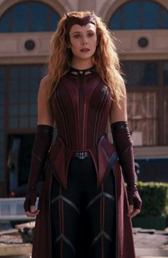 Marvel Avengers Movies, Marvel Characters, Marvel Dc, Avengers 1, Scarlet Witch Costume, Scarlet Witch Marvel, Marvel Women, Marvel Girls, Wanda Marvel