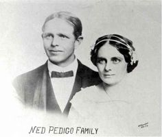 "Edward Joseph ""Ned"" Pedigo (1874-1950) & Maggie Hogan  [#136-146-6]"