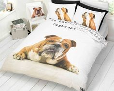Novelty Animal Photographic Print Barry The Bulldog Duvet Cover Bedding Sets King Size for sale online Duvet Bedding, Comforter Cover, Duvet Cover Sizes, Quilt Cover Sets, Quilt Sets, Comforter Sets, Double Duvet Covers, Single Duvet Cover, Anne Stokes Dragon