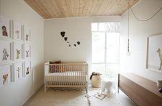 Decorar con fotos de animales la habitación del bebé