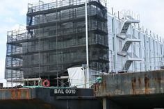 Google Barge is sold and being scrapped