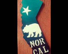 california sign I left my heart in california Novelty by KayzAttic