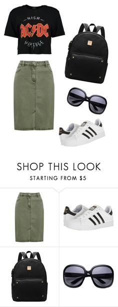 """""""School outfit"""" by indrasavje01 on Polyvore featuring M&Co and adidas"""