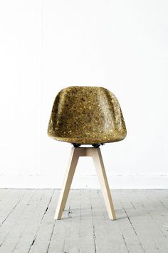 Edinburgh College of Art Graduate, Spyros Kizis, developed an Artichoke Thistle fiber reinforced plastic material, by combining agricultural waste fibres, with brand new biological epoxy resin.