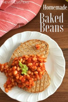 Homemade Baked Beans -No fuss family favourite