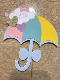 Chuva d amor Diy Crafts Hacks, Foam Crafts, Preschool Crafts, Diy And Crafts, Crafts For Kids, Paper Crafts, Rainbow Theme, Rainbow Birthday, Rainbow Baby