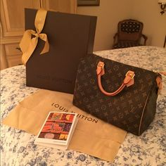 Louis Vuitton Speedy 30 100% Authentic Authentic Louis Vuitton Speedy 30 with original receipt, lock & key, dust cover included. Like new! Louis Vuitton Bags Satchels