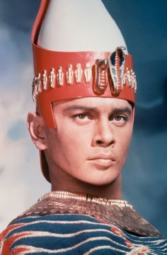 Yul Brynner was the man and he bow-legged that's double fineness,