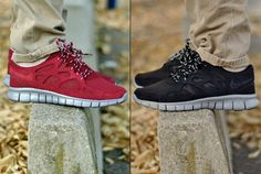 Nike Free Run+2 Bordeaux & Black