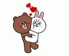 The perfect Love Bear Hug Animated GIF for your conversation. Discover and Share the best GIFs on Tenor. Hug Cartoon, Couple Cartoon, Cute Hug, Cute Love Gif, Calin Gif, Bear Gif, Hug Gif, Cony Brown, Cute Love Cartoons