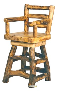 Find this Pin and more on Log and Cabin Bar Stools