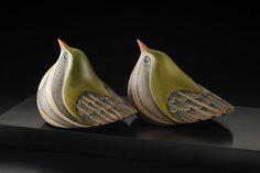 Titipounamu • New Zealand Riflemen by Rex Homan, Māori artist