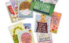 MILESTONE BABY CARDS | UrbanMoms.nl