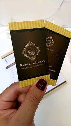 Chocolate Logo, Design Minimalista, Business Card Design Inspiration, Churros, Fodmap, Slogan, Banner, Logo Design, Iphone