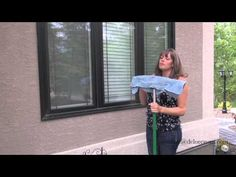 Norwex Cleaning Outside Windows - Spring Cleaning Tips - Streak free Win...