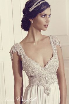Anna Campbell Gossamer 2016 Wedding Dresses | http://www.deerpearlflowers.com/anna-campbell-gossamer-2016-wedding-dresses/