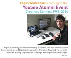 Angus and his dream of creating 3D games.