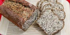 Leinsamenbrot Low Carb - Unser Leinsamenbrot ist nicht nur Low Carb und eiweißreich, es kann auch glutenfrei gebacken werden