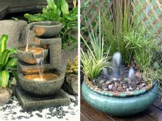 20 Small Garden Water Feature Ideas To Add A Little More Zen To Your Life - https://freshome.com/20-small-garden-water-feature-ideas-add-little-zen-life/
