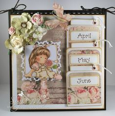 Suzi Mac Creations : Totally Tilda Dt #62 Calendar with Tilda