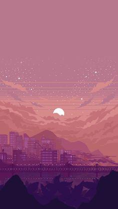 Pixeltapeten – Life-Gulp-Bro… – Wallpaper World Anime Scenery Wallpaper, Aesthetic Pastel Wallpaper, Cute Wallpaper Backgrounds, Aesthetic Backgrounds, Tumblr Wallpaper, Pretty Wallpapers, Galaxy Wallpaper, Aesthetic Wallpapers, 8 Bit Iphone Wallpaper
