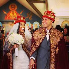 Ethiopian wedding.