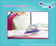 Leave your laundry worries to us.... Wassup Care: 1800 3000 9969 Visit: http://www.wassuplaundry.com