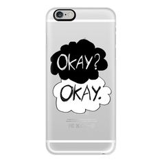 iPhone 6 Plus/6/5/5s/5c Case - Okay? Okay - The Fault In our Stars -... ($40) ❤ liked on Polyvore featuring accessories, tech accessories, phone cases, phones, cases, iphone, iphone case, clear iphone cases, apple iphone cases and iphone cover case