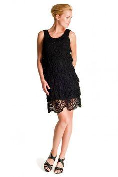 Вяжем черное платье! - Ярмарка Мастеров - ручная работа, handmade