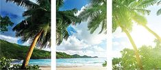 Palm Tree Wall Mural Decal Palm Tree Wall Art Decals by PrimeDecal