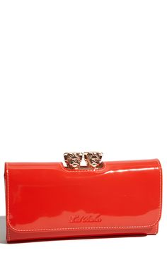 Ted Baker 'Roverz Bobble Matinee' Clutch Wallet