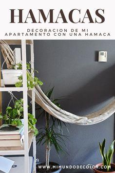 DECORACIÓN EN MI APARTAMENTO PEQUEÑO CON UNA HAMACA TROPILEX #decohome #hamacas #tropilex #hammock #decohamacas