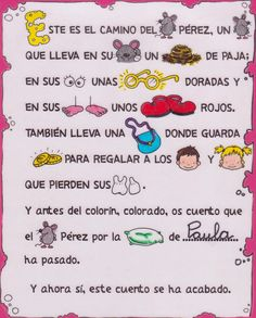 RATON Spanish Teaching Resources, Reading Activities, Tooth Fairy, Dentistry, Journal, Education, Leo, Alphabet, Frases