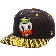 Adult Oregon Ducks Kahuku Adjustable Cap ($35) ❤ liked on Polyvore featuring men's fashion, men's accessories, men's hats, multicolor, mens caps and hats and mens snapback hats