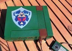Legend of Zelda NES Console Mod on Global Geek News.