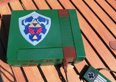 Awesome #Zelda themed NES Mod a customer of mine made Pic 2