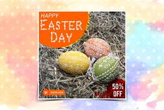 Easter Sale Instagram banner by Nisha Mehta Droch on @creativemarket