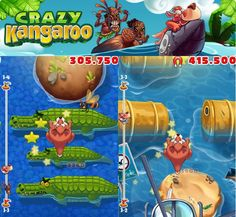 Gamelion Studios, the developers of Monster Shooter and Doodle Fit, has announced their newest game releasing for iOS will be coming out May 1st. What's the game? A z-scrolling platformer called Crazy Kangaroo,featuring a kangaroo named Barney who's out to make his way home after escaping some poachers.